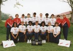 1991 World Netball Cup Final: a video clip
