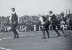 Playing netball by the 1936 rules