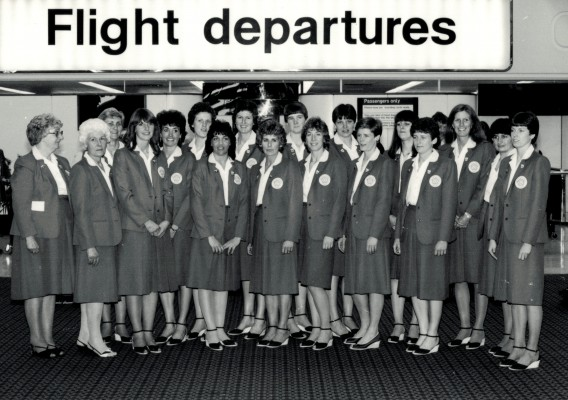 On their way to the WT SIngapore 1983
