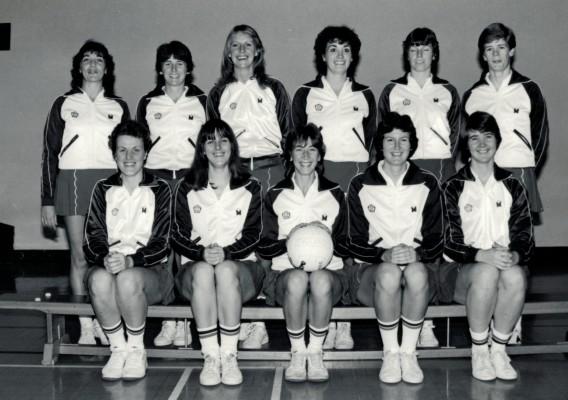 England Senior Squad 1982/1983