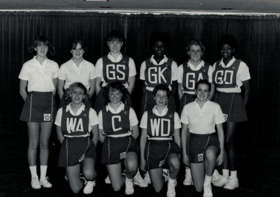 England Under 18 Squad 1982/1983