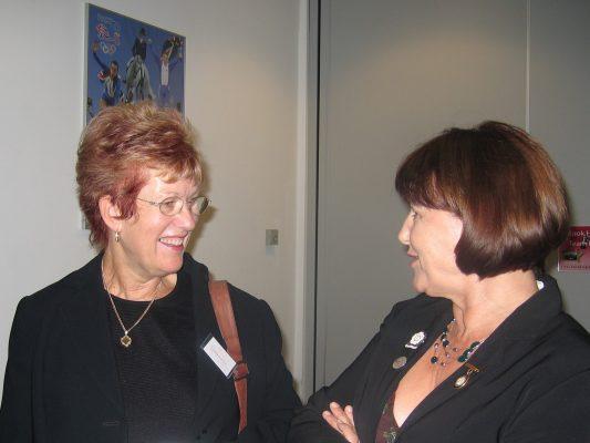 Gerry Cornwall and Cheryl Danson