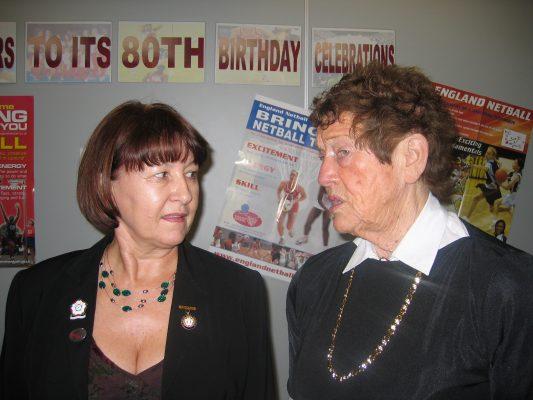 Cheryl Danson and Anne Stephenson