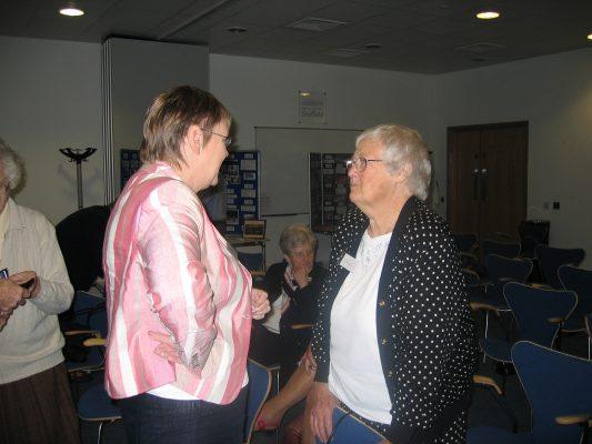 Mary Beardwood and Jean Bourne