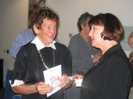 Anne Stephenson and Cheryl Danson