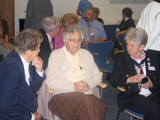 Mary French, Phyllis Ridgewell, Nora Ashworth
