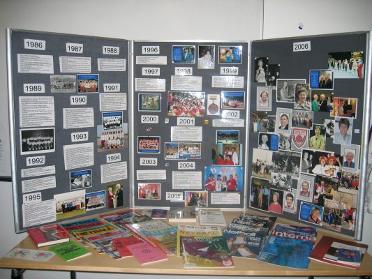 The other display board