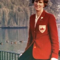Jean Robinson 1959 original red blazer | Jean Robinson