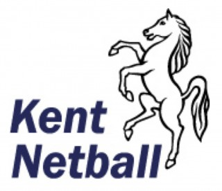 Kent Invicta horse with the wording Kent Netball
