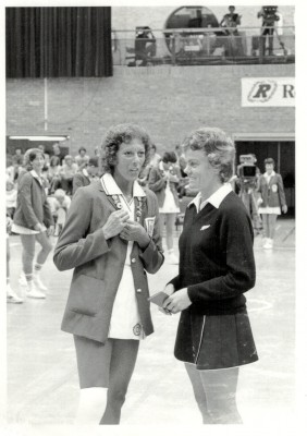 Pat Watson and Lyn Gunson (Parker)