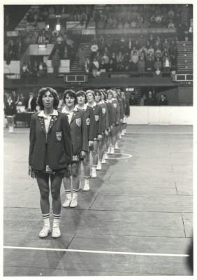 1980 England line up at Wembley