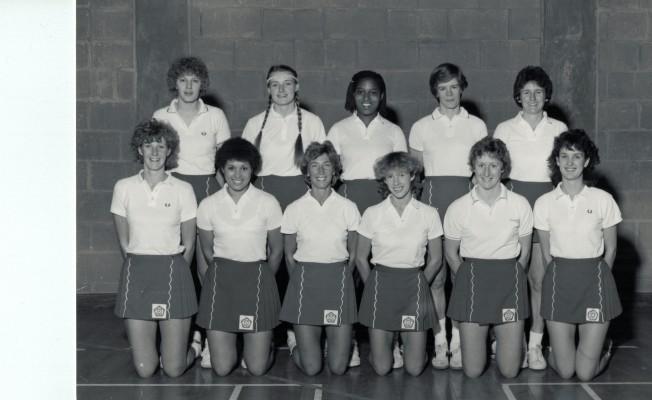 1983/1984 England Senior Squad