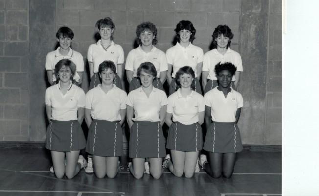 1984/1985 England Under 18 Squad