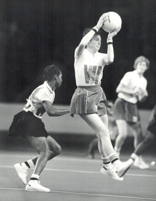 Sugar Cup, England v Jamaica, Wembley, November 1984 | Eileen Langsley