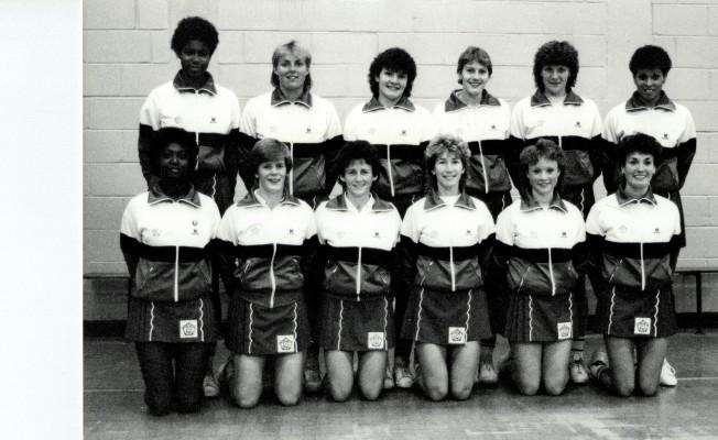1985/1986 England Senior Squad