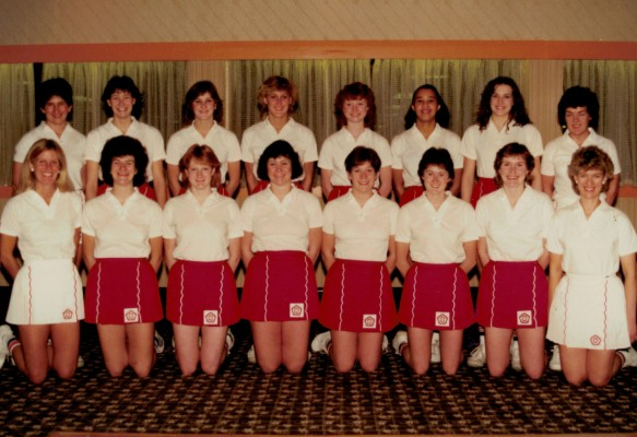 1985 Young England Squad for Trinidad Tour April