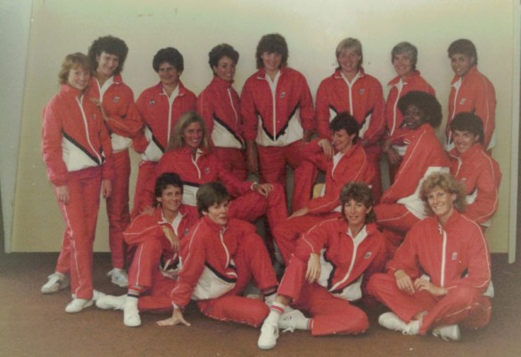 Informal World Games Squad 1985