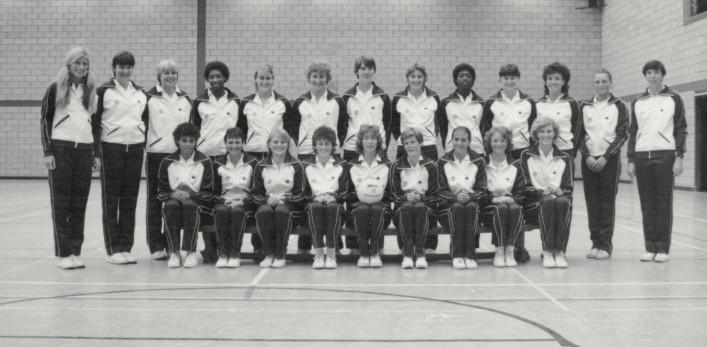 World Games large squad 1985