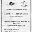 1991 Kent v Essex Met