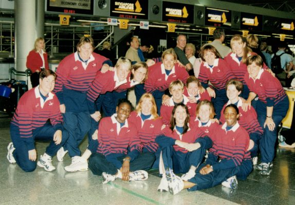 England Squad leaving for the 10th Worlds Championship in New Zealand.