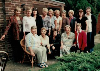 Members from the 1960s and 1970s Judy Heath, Anne Miles, Pat Meadows, Les Darby, Linda Clarke, Pat Watson, ???, Joyce Wheeler, Denise Hunter, Cathy Hicky Liz Kelly, Eunice Charles, Pat Dudgeon, Mary French, Colette Reader