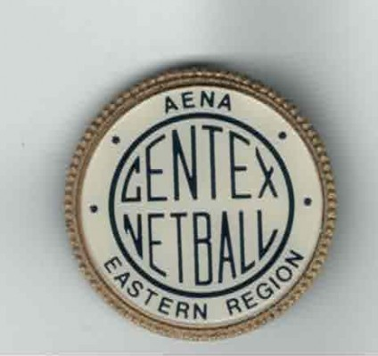 The badge designed by the participants, as is the title CENTEX