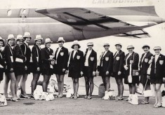 1970/71 England flying to the 3rd World Tournament, Jamaica, plus article
