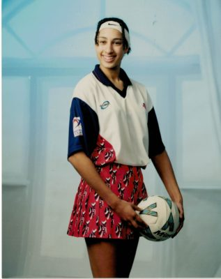 Geva Mentor in the England 2000 squad