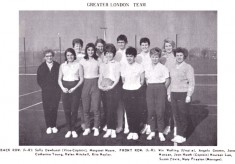 1967 The Greater London Team