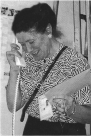 Image of Joyce Crust, Kent Coach and Volunteer at the World Championships in 1995