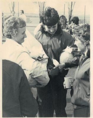 Judi Heath with Jill Pendrill
