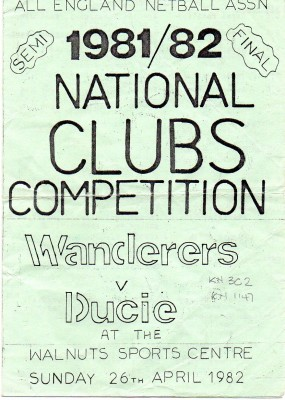 1982 National Clubs Competition