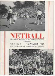 1952 AENA Netball Magazine