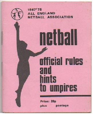 Netball Rule Books