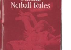 Netball Rule Books