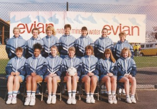 Image of the Kent County Squad in 1991