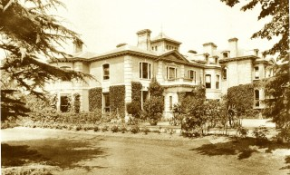 Image of the original Kingdfield house