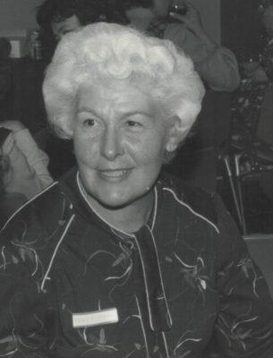 Mary Thomas, MBE