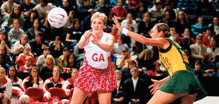 Explore the history of netball in England