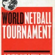 1963 The first World  Netball Tournament