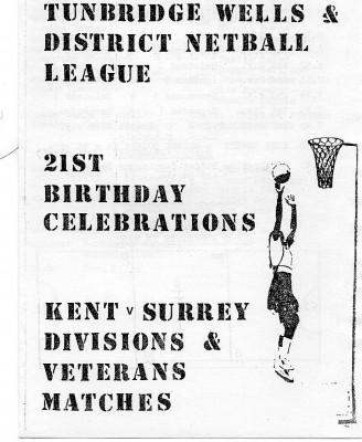 Tunbridge Wells & District Netball League