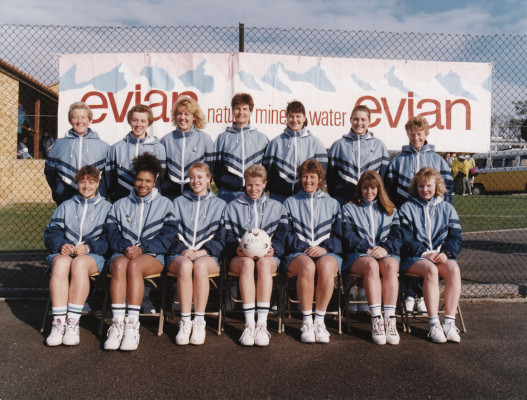 Kent's 1st Team in 1991