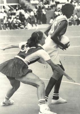 Denise Hunter defending