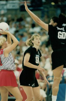 Tracey Miller shooting against New Zealand | Niels Carruthers