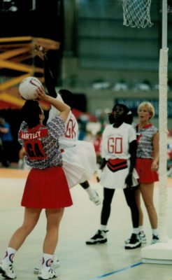 Sheila Hartley shooting against Trinidad & Toabgo | Niels Carruthers