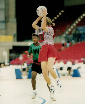 1995 World Netball Championship, Birmingham and the action   Niels Carruthers
