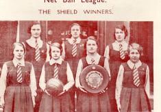 1934 All England Women's Net Ball Association magazine