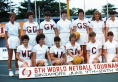 1983 - 6th World Netball Tournament - Singapore