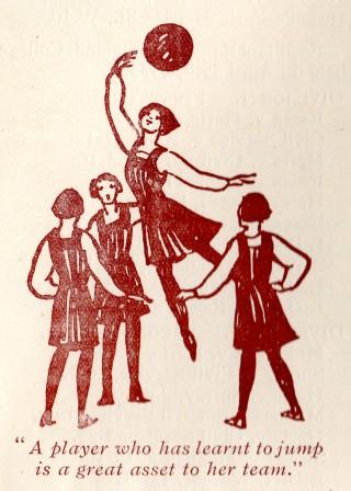 1933 All England Women's Net Ball Association magazine