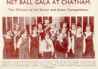 1933 All England Women's Net Ball Association